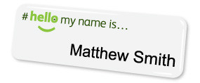 Standard Name Badges | www.namebadgesinternational.ae